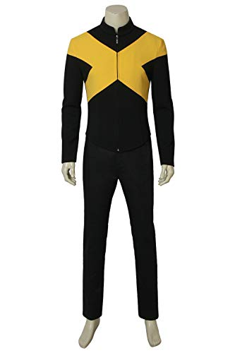 Superhero Full Set Cospaly Costume Outfit Halloween Uniform Suit XL -