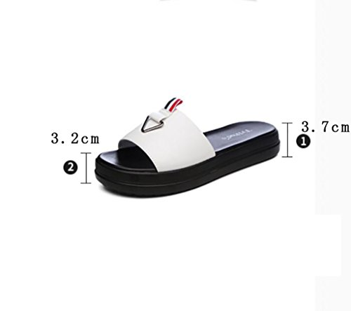 Wedges slip 40 women's slippers non sandals wild fashion and summer Size and sandals Flat A Fashion A Color Sandals slippers wear sandals slippers sandals and 4Ww4ngq7r