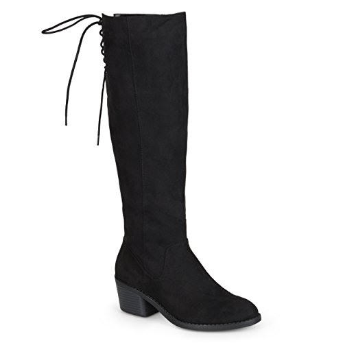 Brinley Boots Brinley Toe Womens Faux Black Co Co Round Suede OHxTdqqpw