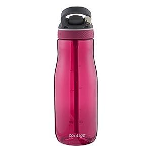 Contigo Autospout Straw Ashland Water Bottle, 32 oz, Sangria