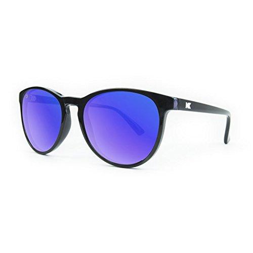 Glossy Black Polarized Sunglasses - 7
