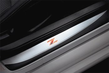 Nissan 370Z Coupe and Roadster Illuminated Kick Plates (illuminated Z logo) G6950-1EA0A