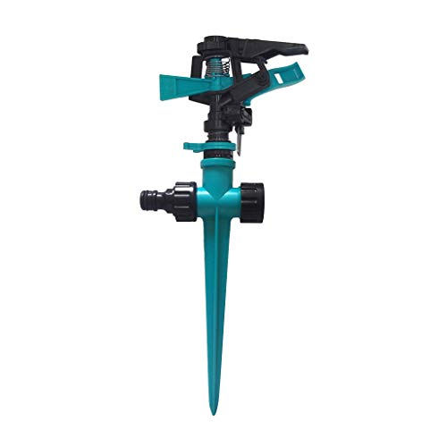 (AckfulRotating Impulse Sprinkler Garden Lawn Grass Watering System Water Hose Spray)