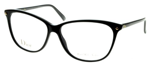 DIOR Eyeglasses 3270 0807 Black 53MM (Christian Dior Cd Eyeglasses Frame)