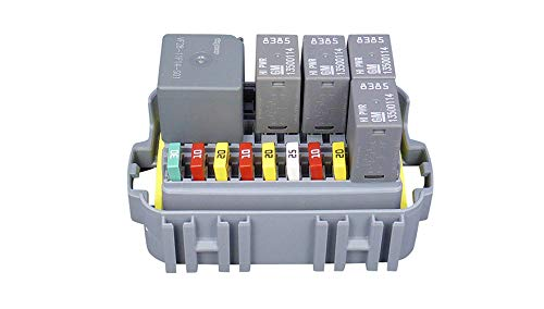 MTA Waterproof Fuse Relay box Panel for 30 Mini Fuses or 10 Micro 280 Relay: