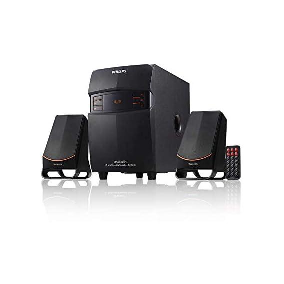 Philips MMS2550B/94 Bluetooth Multimedia Speaker (Black)
