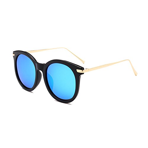 De KJCW Populares Sol La De Tendencia De Blue Moda Sol Retros Blue BAIBB De Clásicos Unisex Gafas Nuevas Gafas 06prAq0