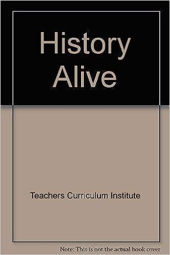 History Alive Teachers Curriculum Institute 9780201818376