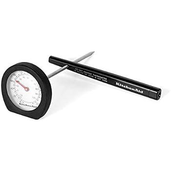 KitchenAid KC126OHOBA Classic Instant Read Thermometer, Black