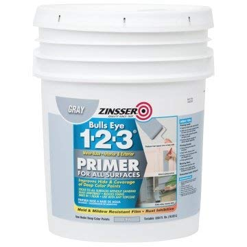 Zinsser Bulls Eye 1-2-3 640 Oz Water-Base Interior/Exterior Primer and Sealer