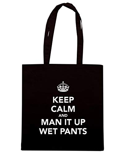 WET AND IT KEEP TKC2710 Shopper CALM MAN Nera PANTS UP Borsa x0wzBXx