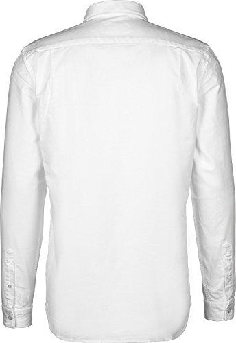 Chemise Habillée blanc Homme 001 Lacoste Blanc Ch4976 Sxaw57q8