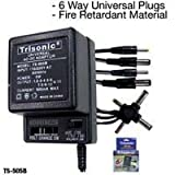 UNIVERSAL AC DC ADAPTER ADAPTOR SONY 500mA 1.5 to 12 V