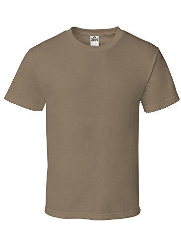 (Alstyle Apparel AAA Men's Classic Short Sleeve T-Shirt, Safari Green, Large)