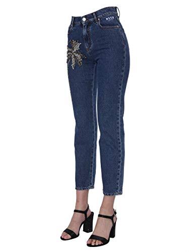 Cotone Blu 2643mdp42la19528489 Msgm Jeans Donna p0xvnOtqw