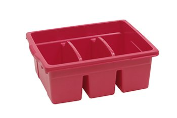 Royal Divided Tub - Red