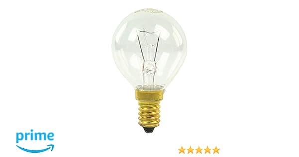 GE E14 horno lámpara bombilla, 40 W, 300 C: Amazon.es: Grandes ...