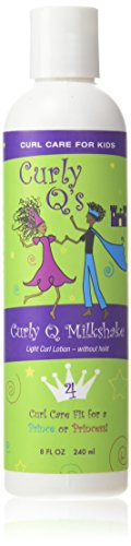 Curly Q's Curly Q Milkshake Light Curl Styling Lotion, 8-Ounce Bottle