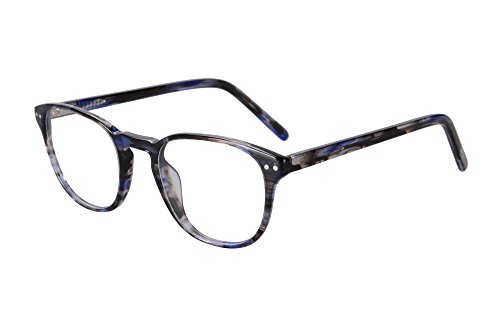 SHINU Mens/Womens Transition Prescription Lens Myopia Glasses and Reading-SH081(black and blue, customize color and - Lenses Colors Transition
