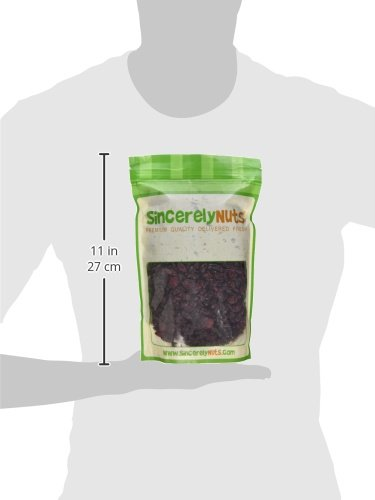 Sincerely Nuts Dried Sweetened Cranberries (2 LB) Vegan, Kosher & Gluten-Free Food-Dried Fruit Snack-Healthy Addition to Your Favorite Meals-Nutrient Rich Alternative Treat for the Whole Family by Sincerely Nuts (Image #6)