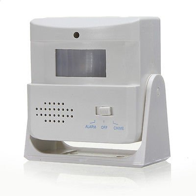 Fission Wireless Motion Sensor Entry Door Bell Welcome Alarm Ring