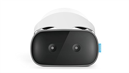 Lenovo Mirage Solo with Daydream, Standalone VR Headset with Worldsense Body Tracking, Ultra-Crisp QHD Display, Smartly Designed Mobile Headset by Lenovo