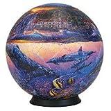": Esphera 360 9"" 540 Pieces Sphere Art: Lassen's ""Reef of Miracles"" by Mega Brands"