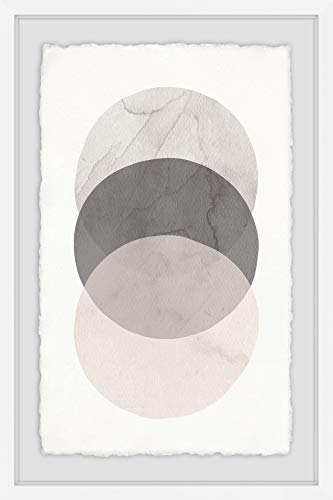 Marmont Hill Three Circles Framed Painting Print from Marmont Hill