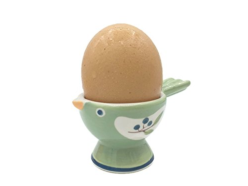 WD- Collection Cute Bird Ceramic Egg Cup (Egg holder) Great Gift for the Soft or Hard-Boiled Egg - Fedex Number Tracking Priority