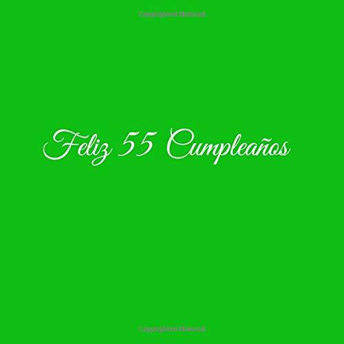 Amazon.com: Feliz 55 cumpleaños: Libro De Visitas 55 Años ...