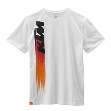 Original KTM Faded té White – Camiseta para hombre Talla L