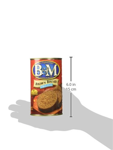 B&M Bread Plain Brown, 16-Ounce (Pack of 6) by B&M (Image #3)
