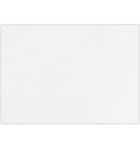A1 Notecards (3 1/2 x 4 7/8) - Savoy - Bright White (1000 Qty.) by Reich Paper