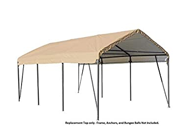 ShelterLogic Carport Replacement Top 12x20 90569 804191 for model 62635