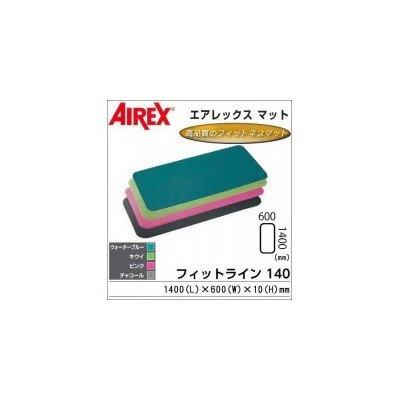 AIREX(R) エアレックス マット フィットネスマット(波形パターン) FITLINE140 フィットライン140 AML-440 Bウォーターブルー 1066367 B01HXLJPVI