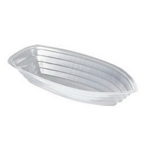 - Detroit Forming SB12 12 oz. Disposable Plastic Banana Split Boat-Shaped Bowl Oblong Food Container | 500 Per Case