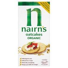 Nairn's Rough Cut Organic Oatcakes 8oz