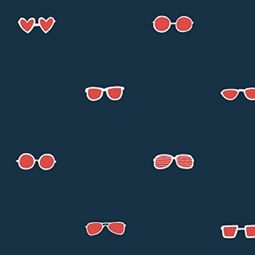 Dear Stella Seas The Day Sunglasses Navy Fabric By The - Stella Sunglasses