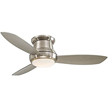 Minka aire f518 orb concept ii 44 ceiling fan oil rubbed 52 concept ii brushed nickel flushmount led ceiling fan aloadofball Choice Image