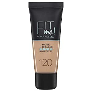 Maybelline New York Fit Me Matte + Poreless Face Foundation - 30 ml, Classic Ivory 120