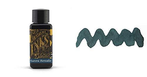 Diamine Fountain Pen Ink, Aurora Borealis, 30 mL