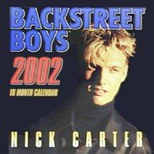 Nick Carter Backstreet Boys Calendar 2002 - Unopened Brand New Collectible Shrink-wrapped Calendar