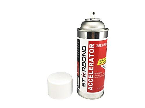Starbond Instant Set Accelerator (Activator) for CA Super Glue, 10 oz. Aerosol