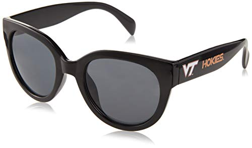 Siskiyou NCAA Virginia Tech Hokies Womens Sunglasses, Black ()