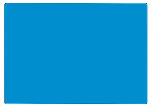 Veloflex 4634351 Bastelunterlage DIN A3, blau, rutschfest, abwischbar, Knetunterlage, Schreibunterlage