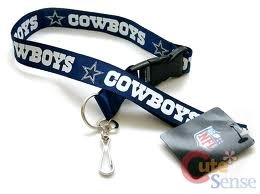 Dallas Cowboys Team Colors (NFL Dallas Cowboys Team Color Lanyard, 22-inches, Blue)