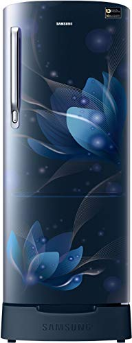 Samsung 192 Liter 5 Star Inverter Direct-Cool Refrigerator (RR20R182XU8/HL, Blooming Saffron Blue)