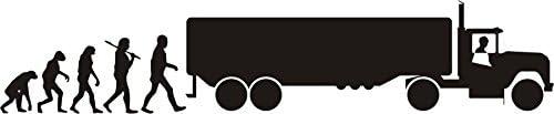 Adhesivo de - Evolution de camión - camionero - Camión - vehículo ...
