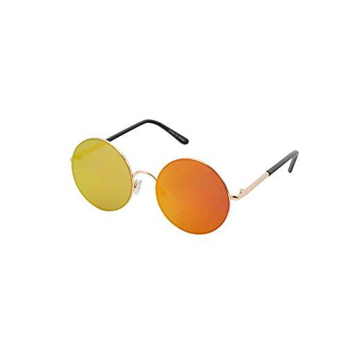 e85552fc8 Round Sunglasses For Women Men John Lennon Hippie Vintage Circle Glasses  UV400