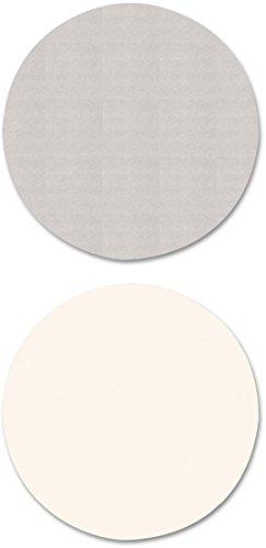 ALERA - Reversible Laminate Table Top, Round, 35 1/2 Dia., White/gray ( ALETTRD36WG ) ( TTRD36WG ) by Alera
